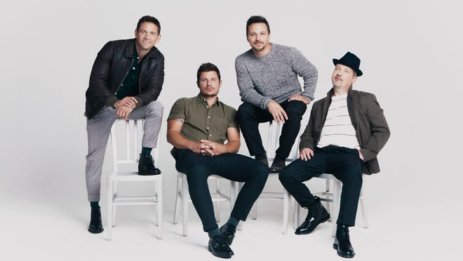 98 Degrees will play two shows at the Aronoff on Friday.
