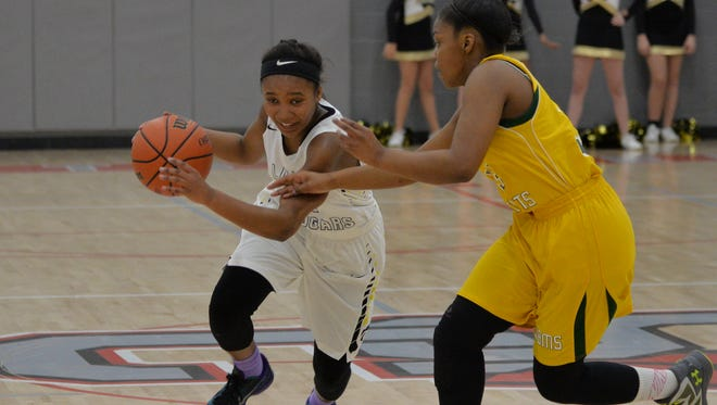 Christiana's Alasia Hayes scored 23 points to lead the Lady Cougars to the Rutherford County Middle School Tournament championship on Saturday.