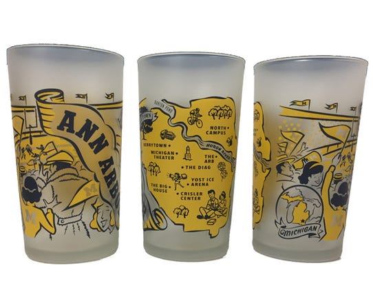 Gift of the Day: Ann Arbor Glasses, $10 each on shoppeninsulas.com