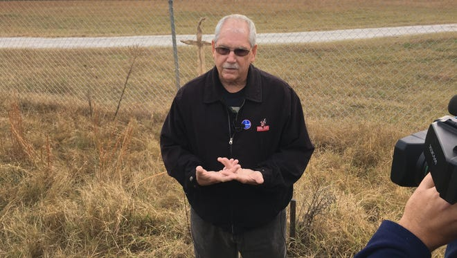 Tom Lucas, father of Brian Lucas who was killed in 2003 at Superbike Motorsports, visits Todd Kohlhepp's property for the first time.