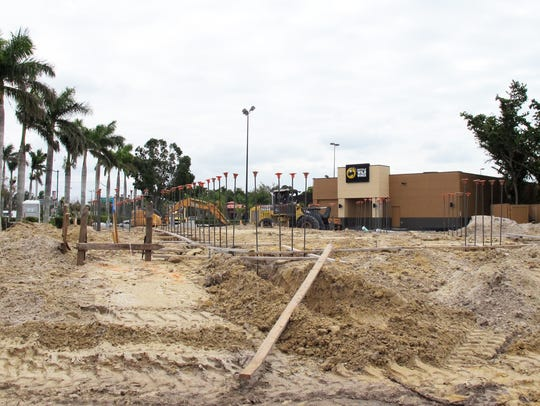 A Starbucks drive-thru is being built next to Buffalo