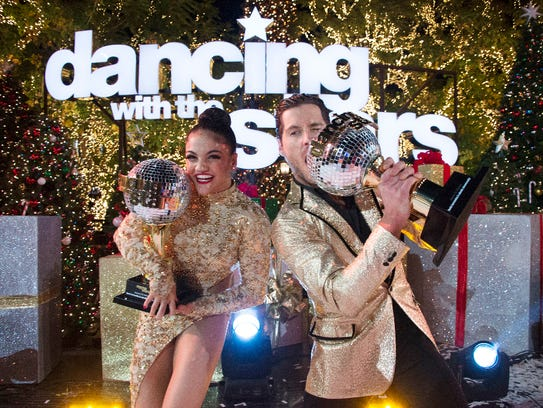 Olympic gymnast Laurie Hernandez won the Mirror Ball