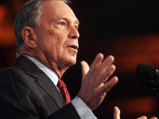 FILE: Michael Bloomberg Will Not Enter Presidential Race