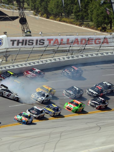 May 4, 2014; Talladega, AL, USA; NASCAR Sprint Cup