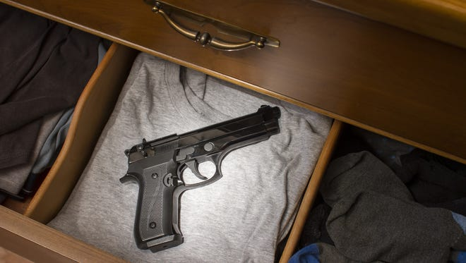 One in three homes with children have guns, and 75 percent of children 5-14 know where the firearms are stored, according to the Brady Campaign to Prevent Gun Violence.