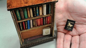 Tiny books collection at University of Iowa has volumes smaller than an inch