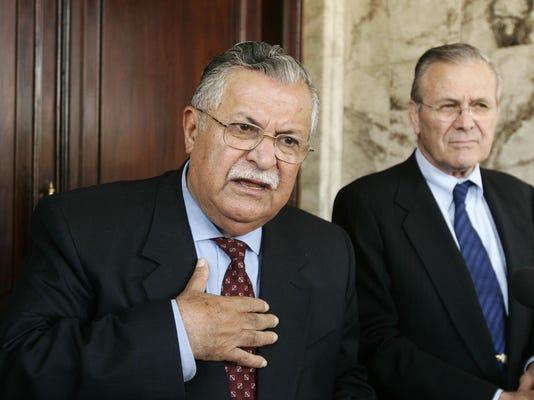 Jalal Talibani,Donald Rumsfeld
