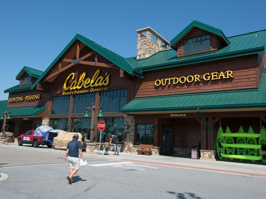 Cabela's in Greenville on Monday, October 3, 2016.