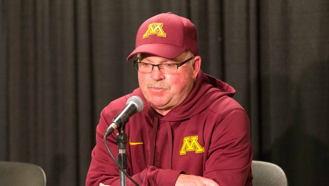 Former Minnesota coach Jerry Kill.