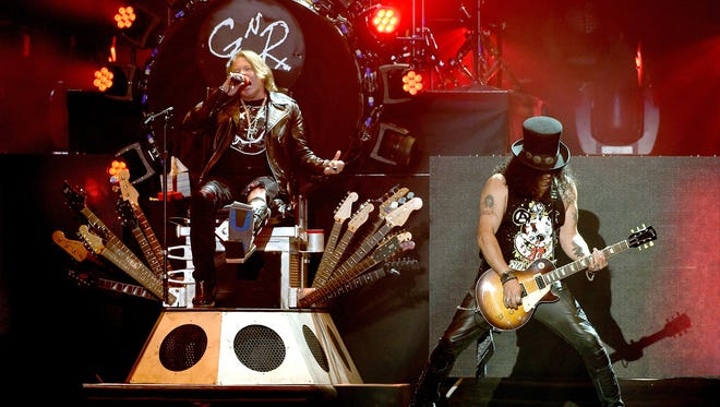Guns N' Roses will perform at Hersheypark Stadium on Aug. 13.