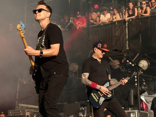 Just in time to wrap up your summer, the reformed and revitalized power punk group Blink 182 hits a beach stage in Atlantic City.