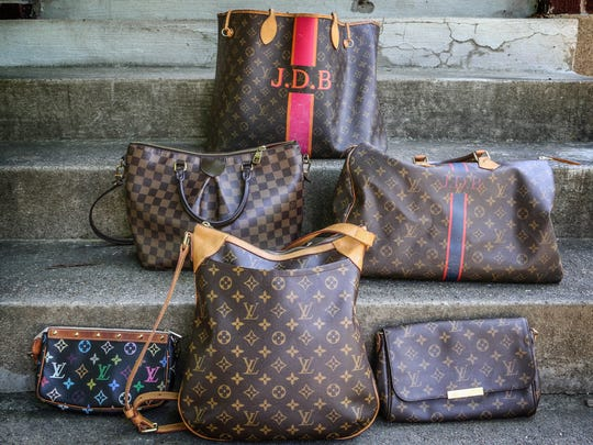 Some of Jole Burghy's favorite things are these Louis Vuitton bags.  She treats herself to a new one every 18 mos.  The mother of two uses them as beach bags to diaper bags to work bags and everything in between.June 29, 2017