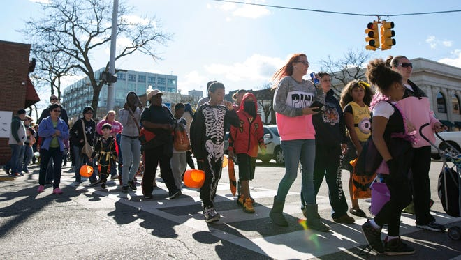 Thousands of people came to the Royal Oak Spooktacular on Sunday, Oct. 25, 2015 in downtown Royal Oak.