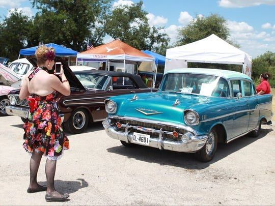 A car show is planned at Twin Peaks on Saturday.