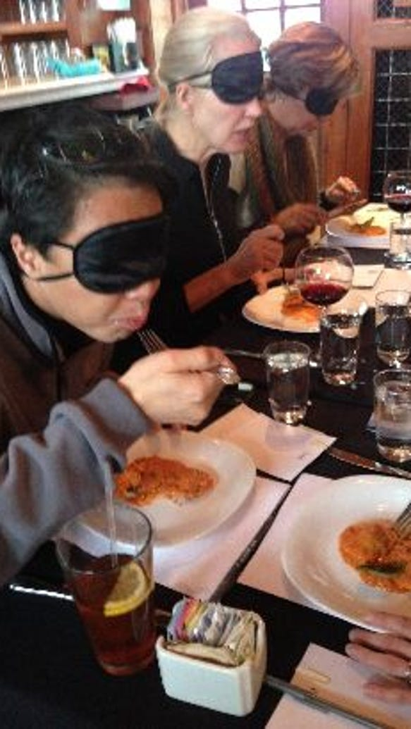 dine in the dark to support guiding eyes for the blind march 1