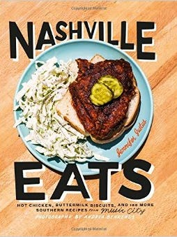 All over Nashville: Yes, you can eat your way to happiness — the Nashville way — with the Nashville Eats cookbook. $35, Music City Marketplace.