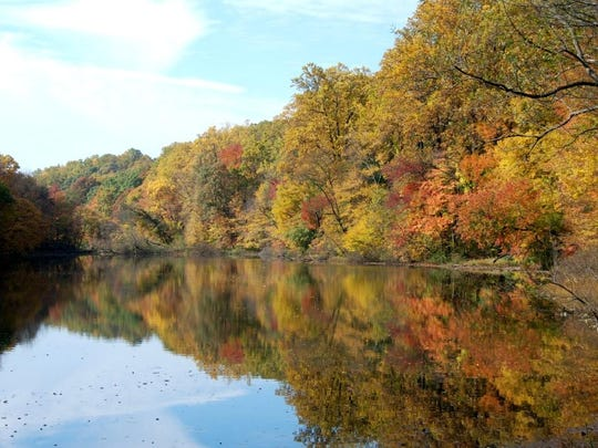 Lake Surprise in Union County's Watchung Reservation is a prime destination for hikers, kayakers and fishermen all year long.