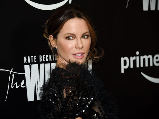 "Actress Kate Beckinsale attends the series premiere of Amazon Prime Video's ""The Widow"" at the Crosby Street Hotel in New York."