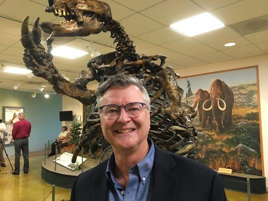 Cincinnati Museum Center paleontologist Glenn Storrs