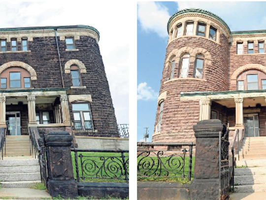 Historic Licking County jail, before and after.