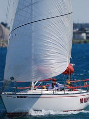 The No Rebase, a sailboat owned by Linda and Ralph