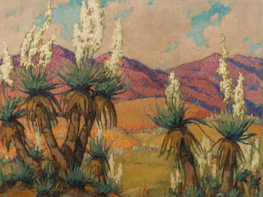 "Marie Hull's ""Texas Field Flowers"" is a highlight of an upcoming exhibition at Belhaven University."