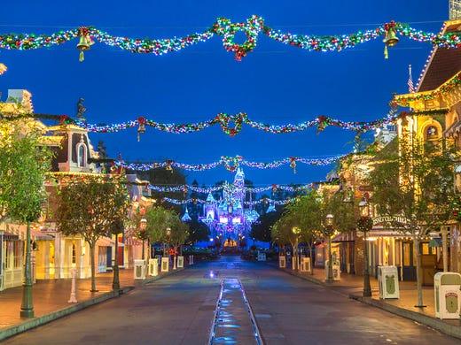 Disneyland Lights Up The Holidays