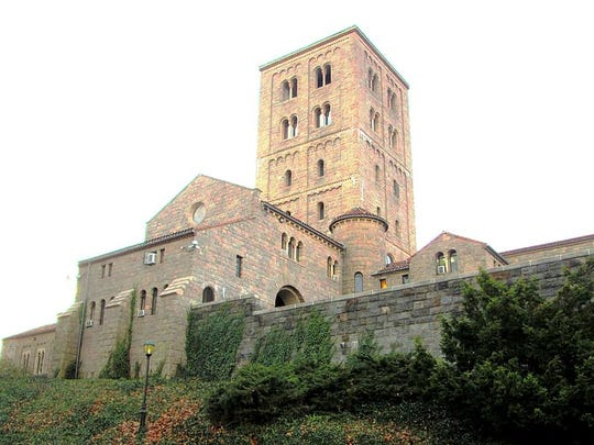 The Cloisters Museum, Manhattan, 1935 (Architect: Charles Collins): Its architectural and artistic works are largely from the Romanesque and Gothic periods.