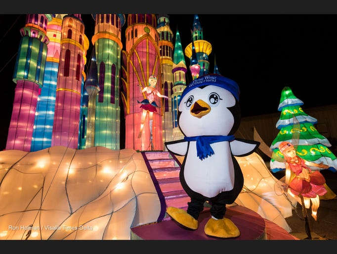 Penny the Penguin is the mascot for Global Winter Wonderland,