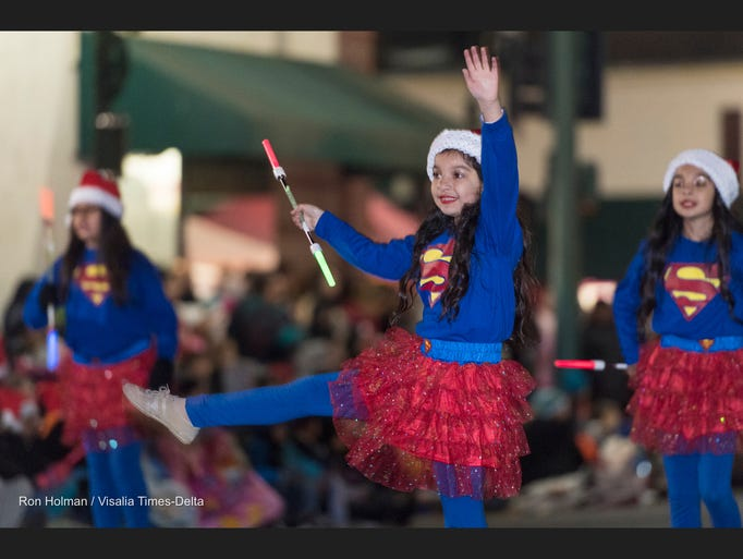 61st Annual Tulare Children's Christmas Parade on Thursday,
