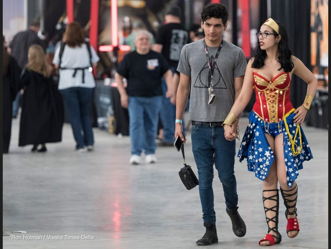 Tulare Sci-Fi Con at the International Agri-Center
