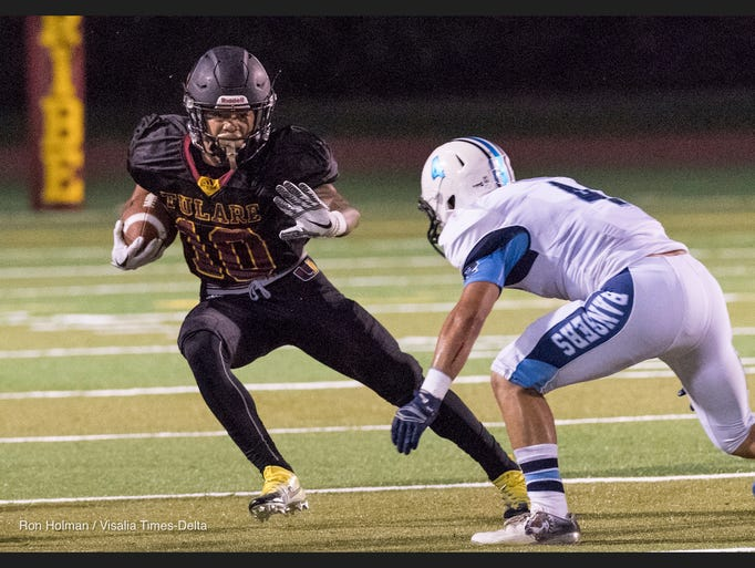 Tulare Union hosts Redwood in non-league high school