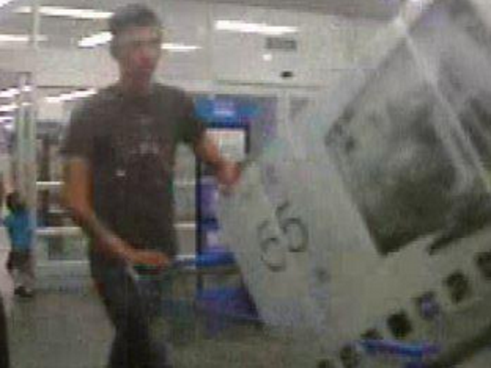 Attempt to Identify Retail Theft Suspects, 4/19/15, 8:16PM, Wal-Mart 845 Palm Bay Rd. TV recovered. Call 321-723-9673