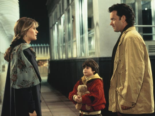 "Meg Ryan and Tom Hanks star in ""Sleepless in Seattle,"" now available on DVD and digital."