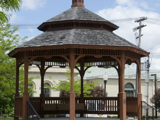 Third Fridays in Galion performances take place at the city's gazebo.