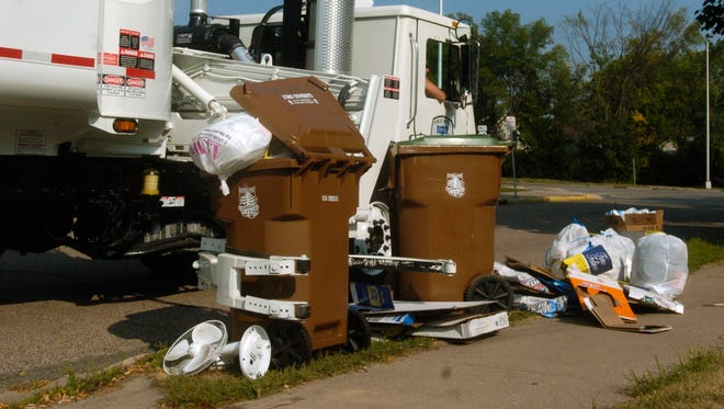 A Stevens Point City Council member has recommended the city change its ordinance concerning garbage container storage.