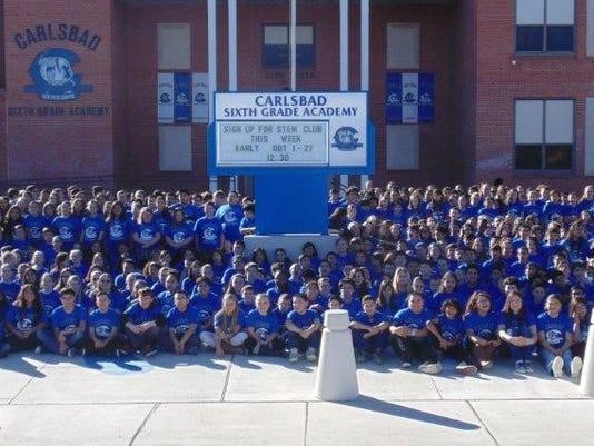 Sixth Grade Academy t-shirts