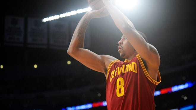Cleveland Cavaliers forward Channing Frye used to play for the Phoenix Suns.