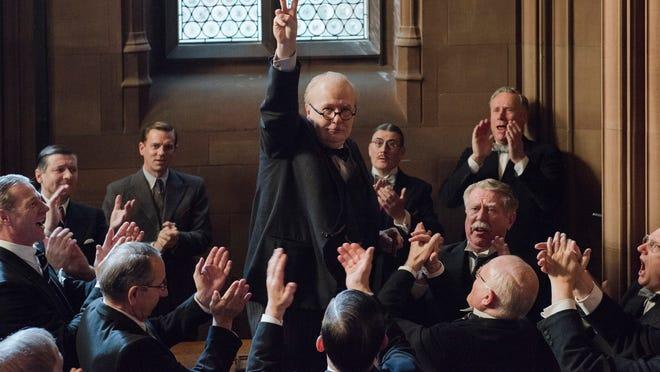 "Gary Oldman stars as Winston Churchill in director Joe Wright's ""Darkest Hour."" Oldman's portrayal of Churchill earned him an Oscar for Best Actor."
