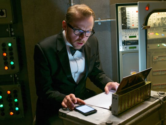 Simon Pegg as tech genius Benji Dunn in 'Mission: Impossible.'
