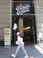 The exterior of Artists & Fleas on Broadway in New