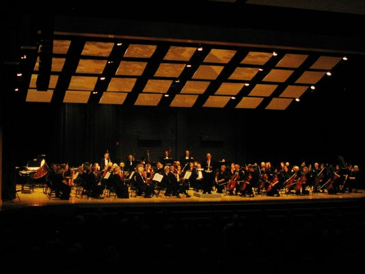 The Penfield Symphony Orchestra is shown performing their Springtime Celebration concert.
