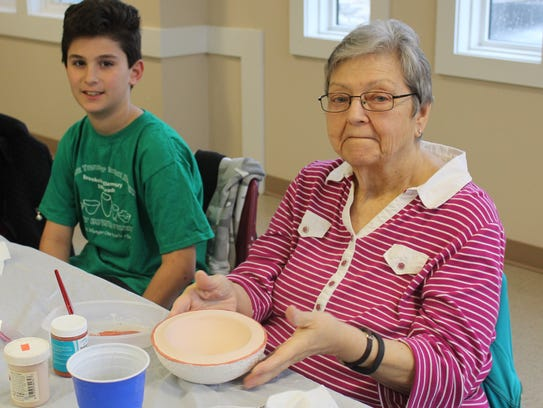 Monroe students paired with local seniors at the Monroe