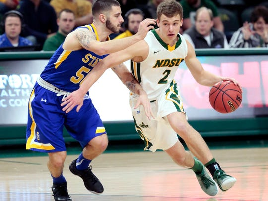 Paul Miller of North Dakota State will be one of the