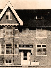 The Zieger Clinic Hospital, circa 1944.