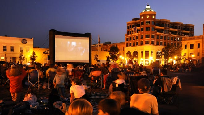 Screen on the Green also will take place in The 400 Block later this summer.