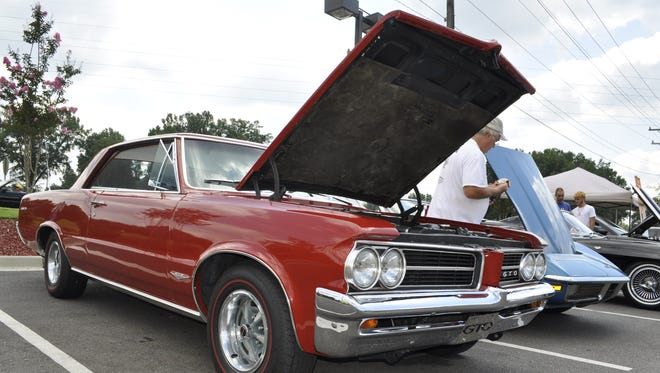 Classic cars will be on display at Fountain Inn's annual Cruise-In on July 16. The event collects school supplies for Generations Group Home.