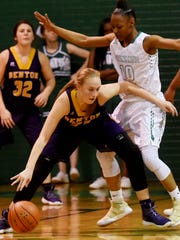 Benton's Emily Ward tries to get around Bossier's Destiny