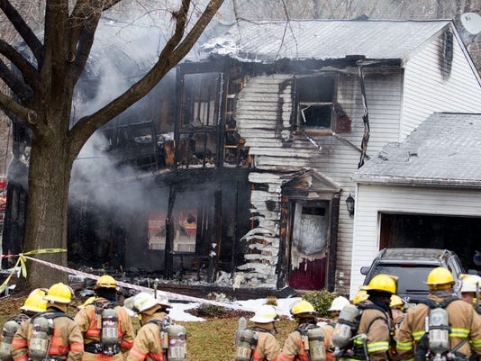 Plane crashed into Maryland home
