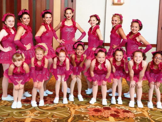 Conservatory of Dance students from Silver City recently attended Dance the Magic at Disneyland in Anaheim, Calif. Attending were, back row from left: Zoe Jo Kasten, Carley Casey, Laura Mae Dille, Gabriela O'Keefe, Kylee Kennedy, Dani Rydeski, Molly Parra; front row: Sananna Miller-Egge, Julianna Stites, Kylee Jones, Hannah Abeyta, Elizabeth Webb, Leila Gonzalez, Mia Bernal, Sophia Abeyta. Courtesy Photo